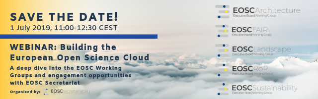 Webinar - Building the European Open Science Cloud