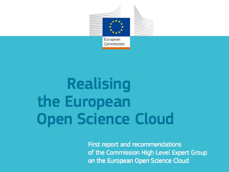 Realising the European Open Science Cloud