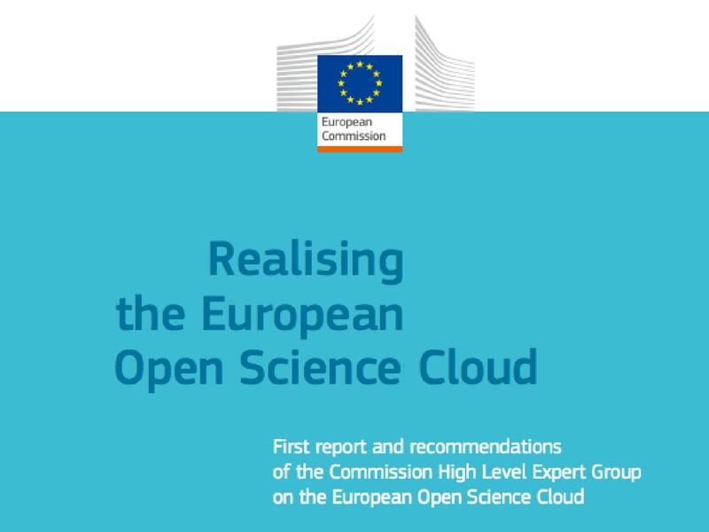 Realising the European Open Science Cloud