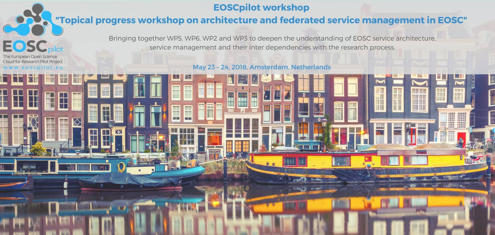 Topical progress workshop on architecture and federated service  management in EOSC